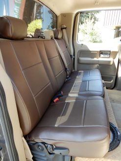 Truck Seatcovers Leatherette RamsHead