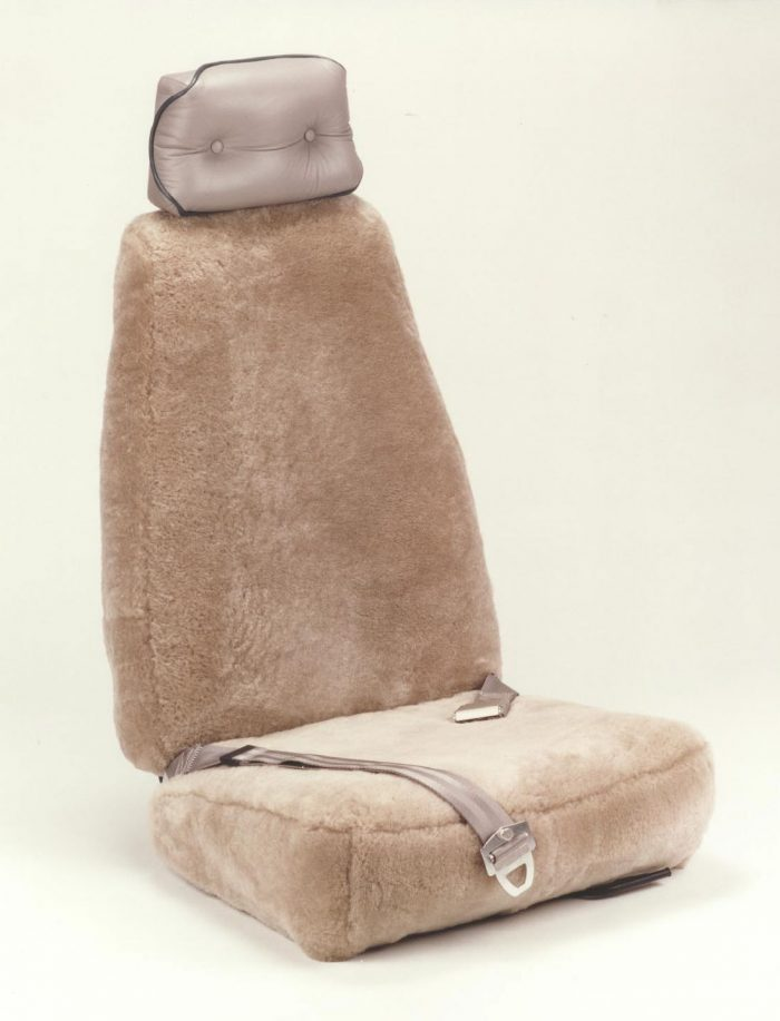 Aircraft Sheepskin Seatcovers RamsHead
