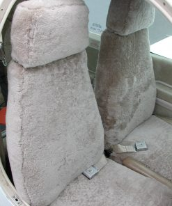 Aircraft Headrest Seatcovers RamsHead