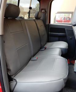 Truck Leatherette Seatcover RamsHead
