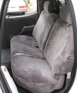 Truck Sheepskin Backseat Cover RamsHead