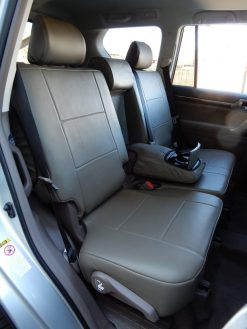 Leather Backseat Cover RamsHead