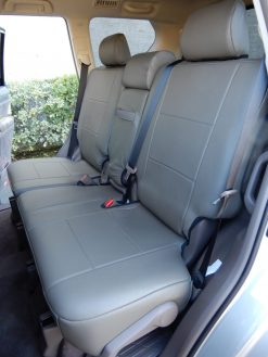 Leather SUV Backseat Cover RamsHead