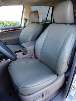 Leather SUV Seat Covers RamsHead