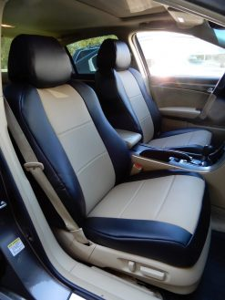 Buy Car Leatherette Two Tone LB Acura TL LE-01 & LE-05 RamsHead Seat Covers