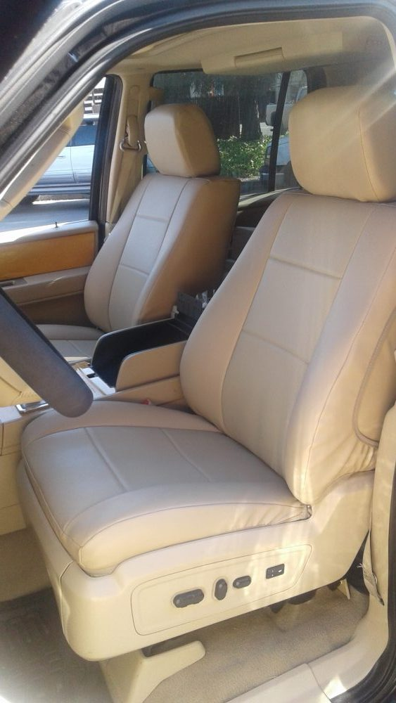Buy SUV Leather RamsHead Seat Covers