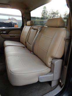 Buy Truck German Leather Back Seat RamsHead Seat Covers