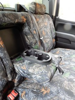 Buy Truck Nylon Camo Front & Back Vented Fron Seats RamsHead Seat Covers