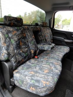 Buy Truck Nylon Camo Front & Back Vented Fron Seats RamsHead Seat Cover