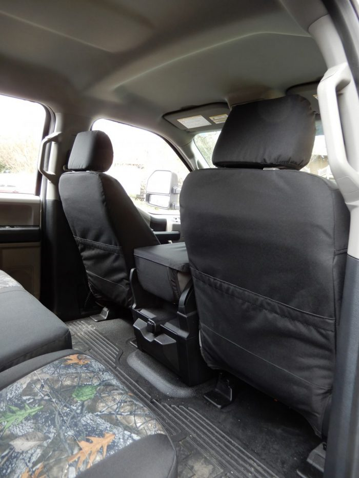 Buy Truck Nylon LB Front & Back Two Tone c-01-s+c-15 Ford F250 RamsHead Seat Covers