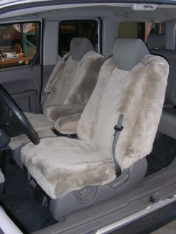 Buy Truck Sheepskin Front LB Bucket RamsHead Seat Covers
