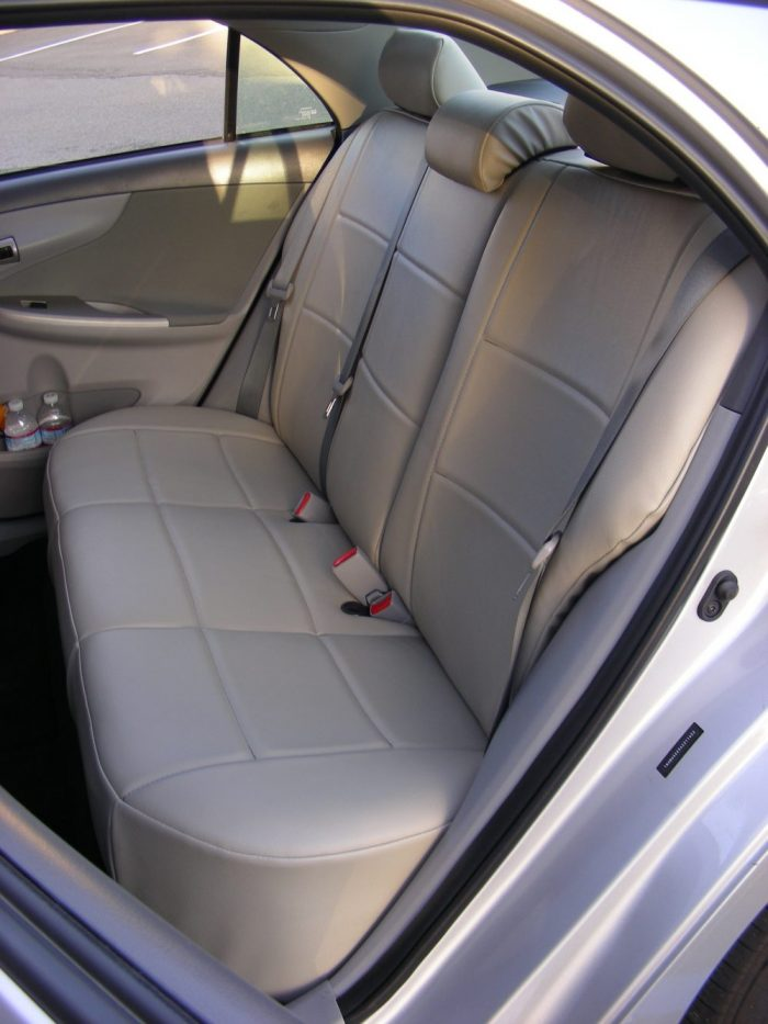 Buy CAR Leatherette Backseat No Armrest RamsHead Seat Covers