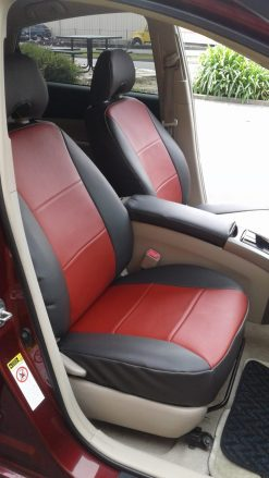 Buy Car Leatherette 2 Tone Seat Covers RamsHead