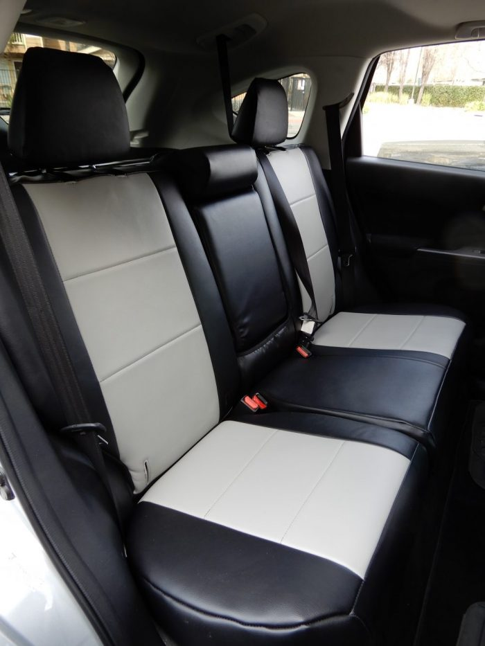 Buy SUV Honda CRV Front Leatherette Two Tone Seat Covers RamsHead