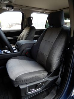 Buy SUV Microfiber Two Tone M2 M3P LB Front -2nd- 3rd Row 19 Ford Expedtion Platinum RamsHead Seat Covers