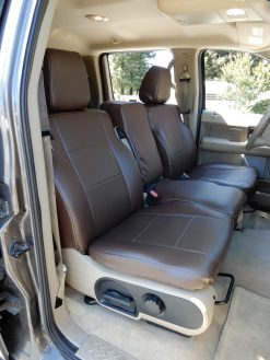 Buy RamsHead Seat Covers Truck LE FRont 40-20-40 Two Tone