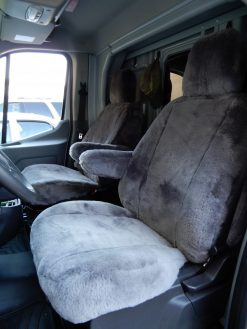 Buy Truck Van Sheepskin #02 LB 18 Ford Transit RamsHead Seat Covers