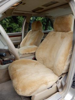 Buy Car Sheepskin LB Sty#2-Camel#06-Mercedes S320 RamsHead Seat Covers