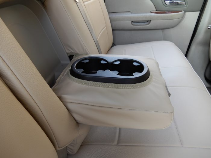 Buy Truck German Leather Back Seat with Arm Rest RamsHead Seat Covers
